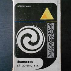 Norbert Wiener - Dumnezeu si golem, s.a. - Carte Filosofie