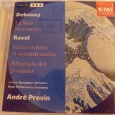 Debussy - andre previn - cd - Muzica Clasica emi records