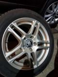 Jante aliaj 5x112 R16 DEZENT + anvelope Michelin Energy Vara, 17, 5