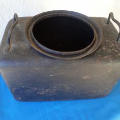 CAZAN BUCATARIE MILITARA MOBILA - Metal/Fonta, Vase