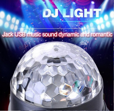 Glob lumini laser 2017 foto