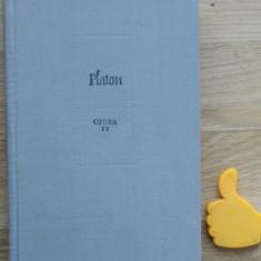 Platon opere vol IV