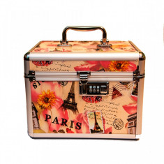 Geantă produse cosmetice din aluminiu Pink Paris - Geanta cosmetice