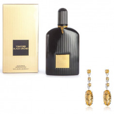 Cercei Citrine Oval by Borealy & Tom Ford Black Orchid