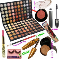 Set machiaj The One + Cadouri Bonus - Trusa make up