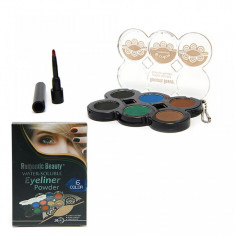 Eyeliner Pudra Water-Soluble 6 culori Romantic Beauty - Tus ochi
