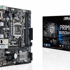 Placa de baza ASUS Socket LGA1151, PRIME B250M-K, 2*DDR4 2400/2133MHz, DVI/RGB, 1*PCIe 3.0/2.0 x16(@ x16 mode), 2*PCIe 3.0/2.0 x1, 2*PCI bulk, Altul, MicroATX