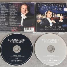 Andre Rieu and Johann Strauss Orchestra - Moonlight Serenade (CD+DVD), decca classics