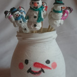 Om de zapada Decoratiune Sarbatori de iarna, Ornament Brad, Craciun