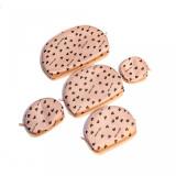 Set gentuțe tip portfard 5 în 1 Pink Hearts - Geanta cosmetice
