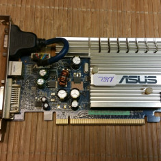 Placa Video Asus EN7500LE 256MB PCIe (14050NEL) - Placa video PC Asus, PCI Express, nVidia