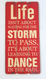 Tablou vintage cu mesaj motivational - 60 x 30 cm - Mare - Nou