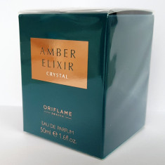 Apă de parfum Amber Elixir Crystal, Oriflame - Parfum femeie Oriflame, 50 ml