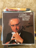 J.S. BACH 6 Suites/Sonatas for Solo Cello MILOS SADLO - SUPRAPHON, VINIL