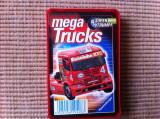 mega trucks camioane set cartonase carti joc trumpf germany colectie hobby