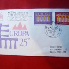 Plic Europa CEPT Poduri 1984 San Marino
