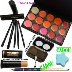 Set machiaj Kiss + Cadouri - Trusa make up