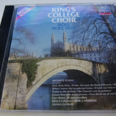 Holy - The king's college choir - cd, decca classics