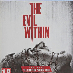 The Evil Within - PS4 PlayStation 4 [Second hand] fm,cd, Actiune, 18+, Single player