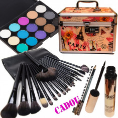 Set machiaj Pink Paris + Cadouri Bonus - Trusa make up