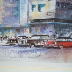 Poster Art Print Oldsmobile, Retro Cars, tematica automobilia