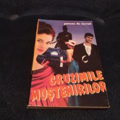 PONSON DU TERRAIL - CRUZIMILE MOSTENIRILOR - Carte de aventura