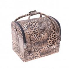 Geantă produse cosmetice Leopard - Geanta cosmetice