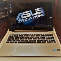 Asus K56-Intel i3-3217u-1.70Ghz-Ram 8GB-SSD 240GB-NVidia 2GB dedicat-15, 6 HD - Laptop Asus, Intel Core i3, 500 GB, Windows 10