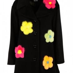 Palton Boutique Moschino - Palton dama, Marime: 42, Culoare: Negru