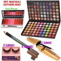 Set machiaj Autumn Heat + CADOURI - Trusa make up