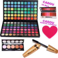 Set machiaj Diva Party + Cadouri - Trusa make up