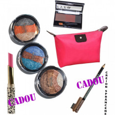 Set machiaj Waves + Cadouri Bonus - Trusa make up
