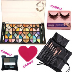 Set machiaj Pretty Girl + CADOURI - Trusa make up