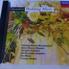 Wedding music - cd - Muzica Clasica decca classics