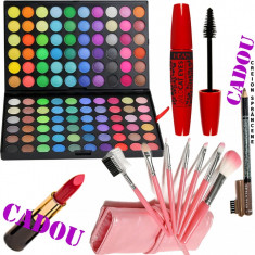 Set machiaj The Queen + Cadouri Bonus - Trusa make up