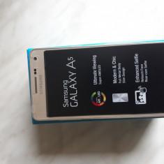 Samsung Galaxy A5 2015 - Telefon Samsung, Auriu, Neblocat, Single SIM