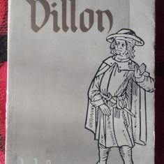 Balade si alte poeme - FRANCOIS VILLON, autograf Barbu Cioculescu 1957 - Carte poezie
