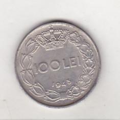 Bnk mnd Romania 100 lei 1943 - Moneda Romania