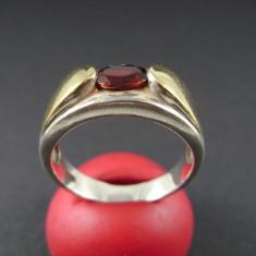 Inel de argint placat cu aur