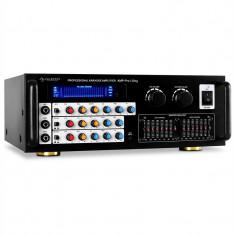 Auna AV1-AMP-Pro1-Sing amplificator microfon 2 zone - Amplificator audio Auna, 81-120W