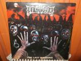 -Y- ALTAR - THE LAST WARNING - DISC VINIL LP ( CITITI DESCRIEREA ! )