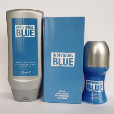 Set Individual Blue, Avon - Set parfum