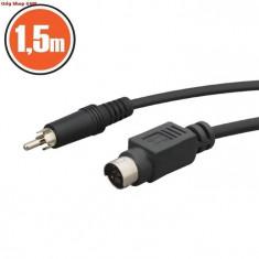 Cablu RCA / S-Video (1.5m), Cabluri RCA