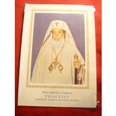Fotografia Patriarhului Teoctist , color ,Dim.= 16x22,5 cm