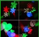 Cumpara ieftin Laser craciun exterior instalatie jocuri de lumini LED Multicolor