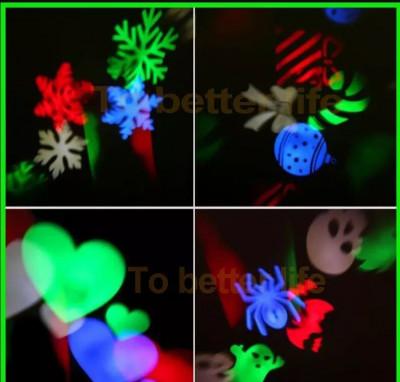 Laser craciun exterior instalatie jocuri de lumini LED Multicolor foto