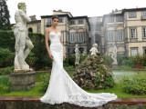 Vand rochie de mireasa Natalia Vasiliev stil sirena! inclus voal lung.
