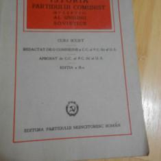ISTORIA PARTIDULUI COMUNIST AL UNIUNII SOVIETICE - 1948