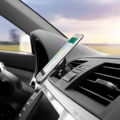 Suport Telefon Auto Magnetic pe Grila de Aerisire Universal, Universala