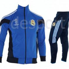 Trening REAL MADRID - Bluza si pantaloni conici - Modele noi - Pret Special 1222 - Trening barbati, Marime: S, M, L, XL, XXL, Culoare: Din imagine